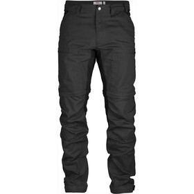 Fjällräven Abisko Lite Trekking Pantaloni con zip Uomo, grigio
